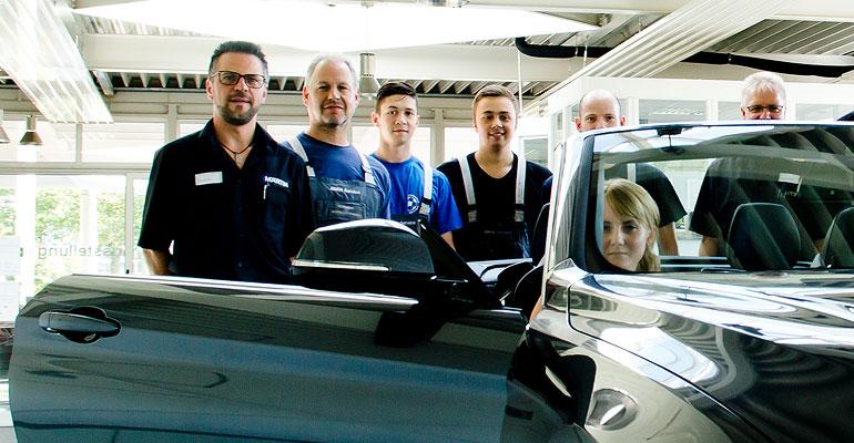 Mitarbeiter der Filiale Bötzingen