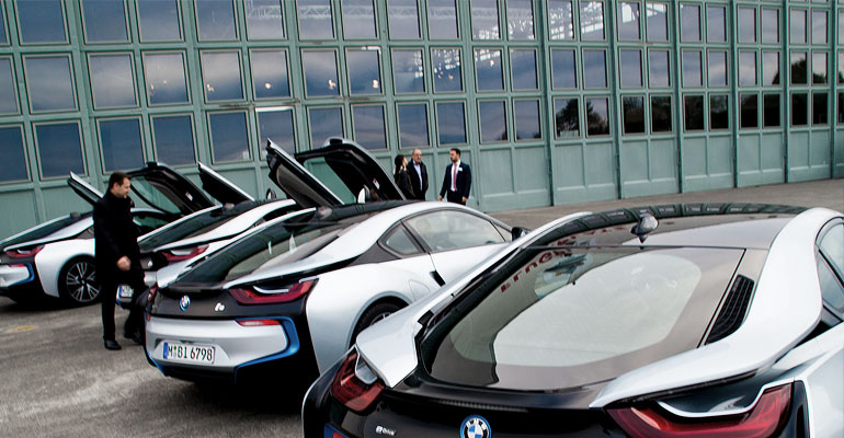 Science, not fiction. BMW i8