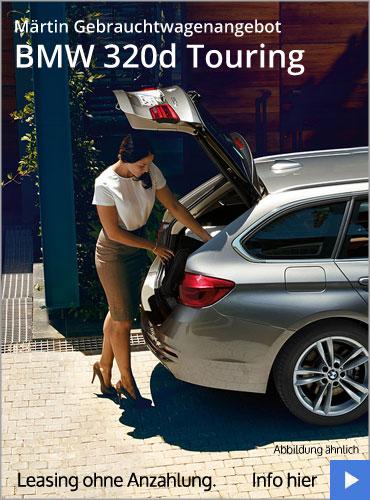 BMW 320d Touring Gebrauchtwagenangebot (Leasing) im Autohaus Märtin