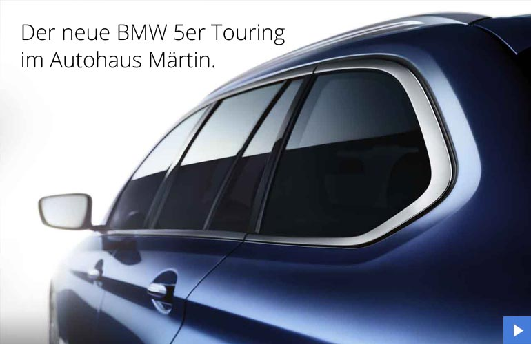 BMW 5erTouring neu im Autohaus Märtin Frjeiburg