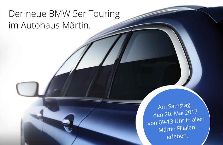 Der neue BMW 5erTouring im Autohaus Märtin Freiburg