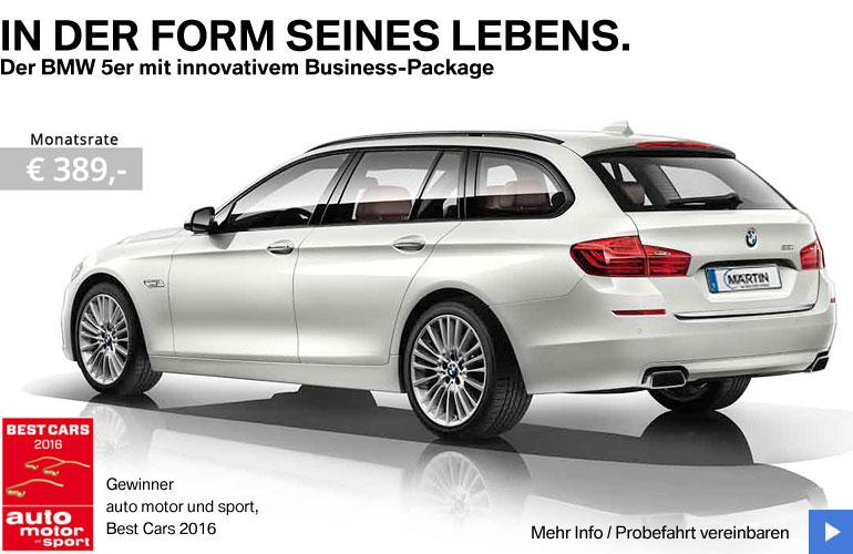 BMW 5er Business-Angebot von Märtin