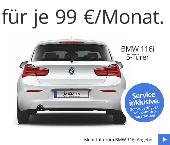 BMW 116i 5-Türer Neuwagenangebot