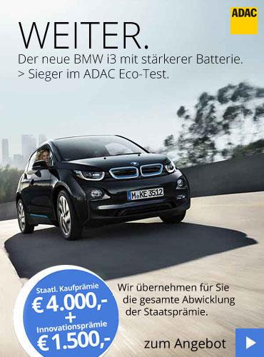 BMW i3 | Sieger ADAC Eco-Test