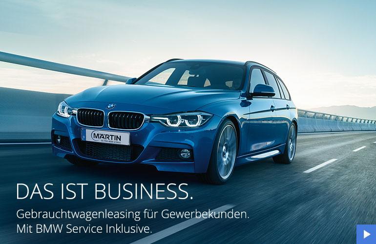 BMW Gewerbekunden Gebrauchtwagenangebot bei Märtin