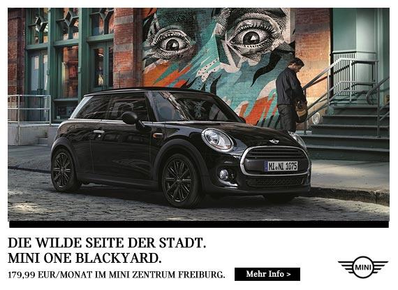 MINI One Blackyard Angebot im Autohaus Märtin