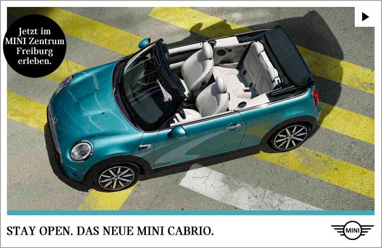 MINI Cabrio bei Märtin Freiburg entdecken