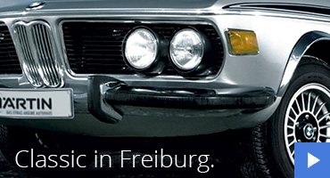 BMW Classic Stützpunkt Autohaus Märtin Freiburg