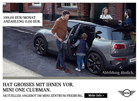 MINI One Clubman Leasingangebot auf mini-maertin.de