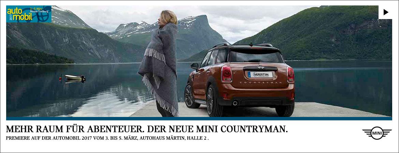Der neue MINI Countryman Vorstellung im MINI Zentrum Freiburg