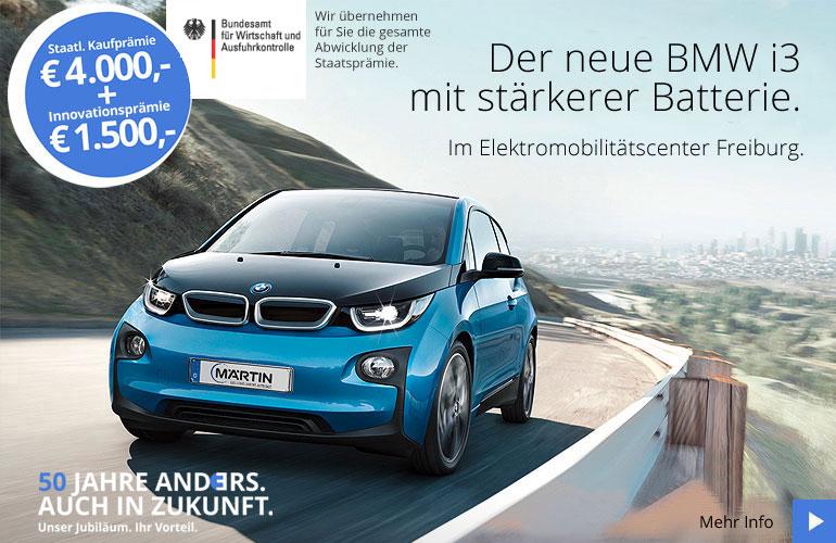 BMW i3 Aagebot mit Staatsprämie