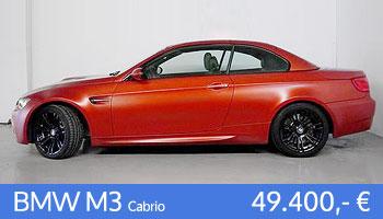 BMW M3 Cabrio Gebrauchtangebot
