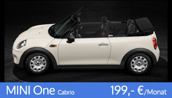 MINI One Cabrio Angebot