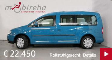 Mobireha VW Caddy Angebot