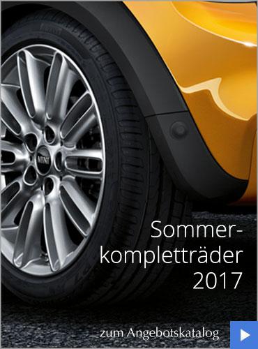 BMW und MINI Sommerräder im Autohaus Märtin