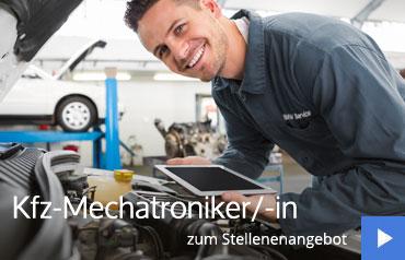 Mechatroniker Stellenangebot im Autohaus Märtin