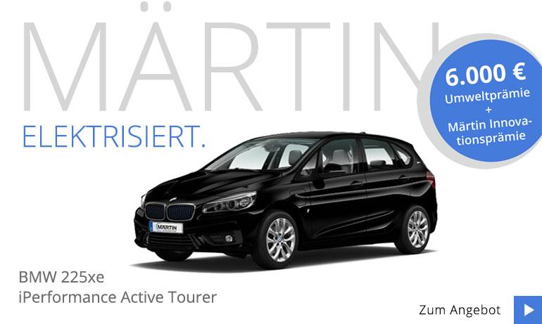 BMW 225xe iPerformance Active Tourer Neuwagenangebot bei Märtin