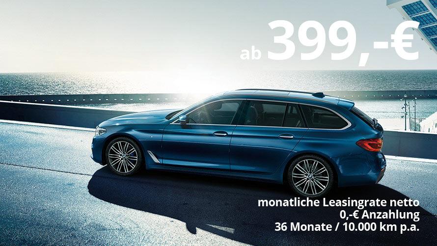 BMW 520d Touring Grosskundenangebot im Autohaus Märtin