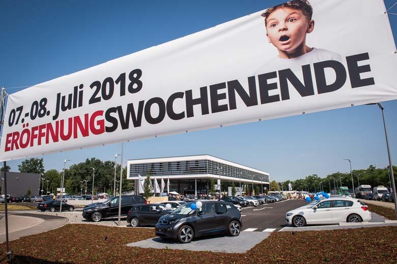 röffnung neues Autohaus Märtin Freiburg