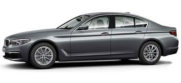 BMW 5er Limousine zur Vermietung im Autohaus Märtin