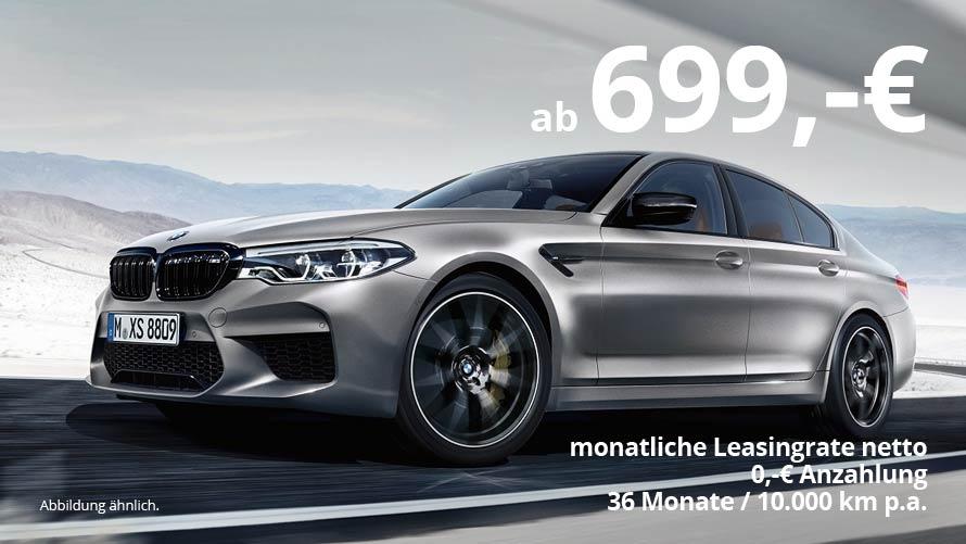 BMW M5 Grosskundenangebot vom Autohaus Märtin