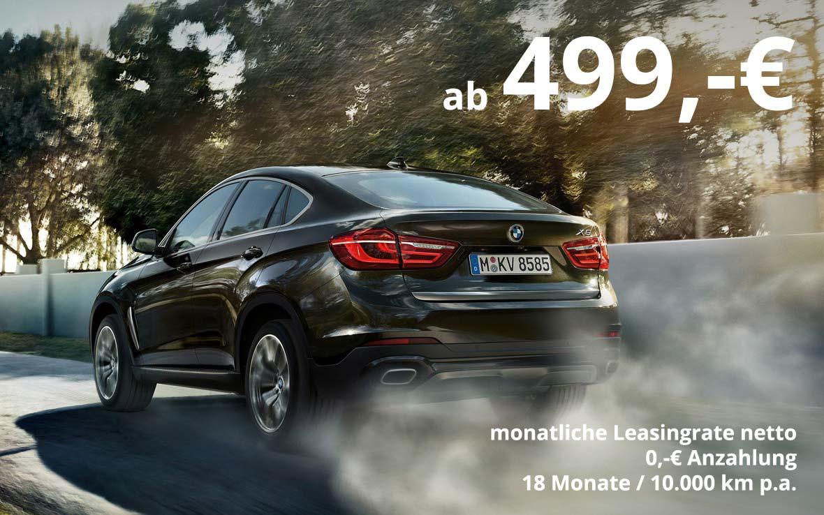 BMW X6 M50d Grosskundenangebot im Autohaus Märtin