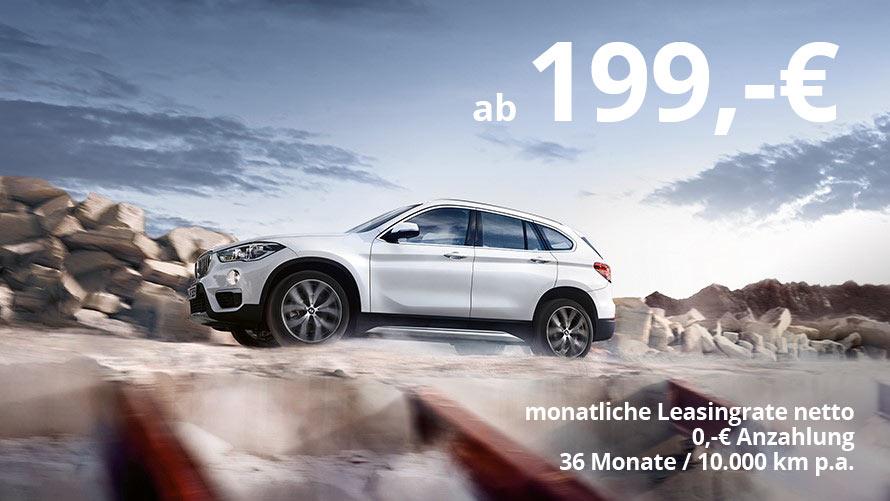BMW X1 sDrive320d Grosskundenangebot im Autohaus Märtin