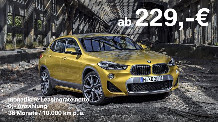 BMW X2 xDrive20d Angebot für Grosskunden