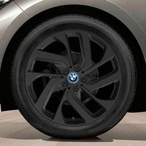 BMW Turbinen-Style 428 Jetblack Uni