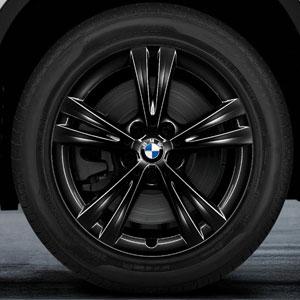 BMW Doppelspeiche 385 Schwarz