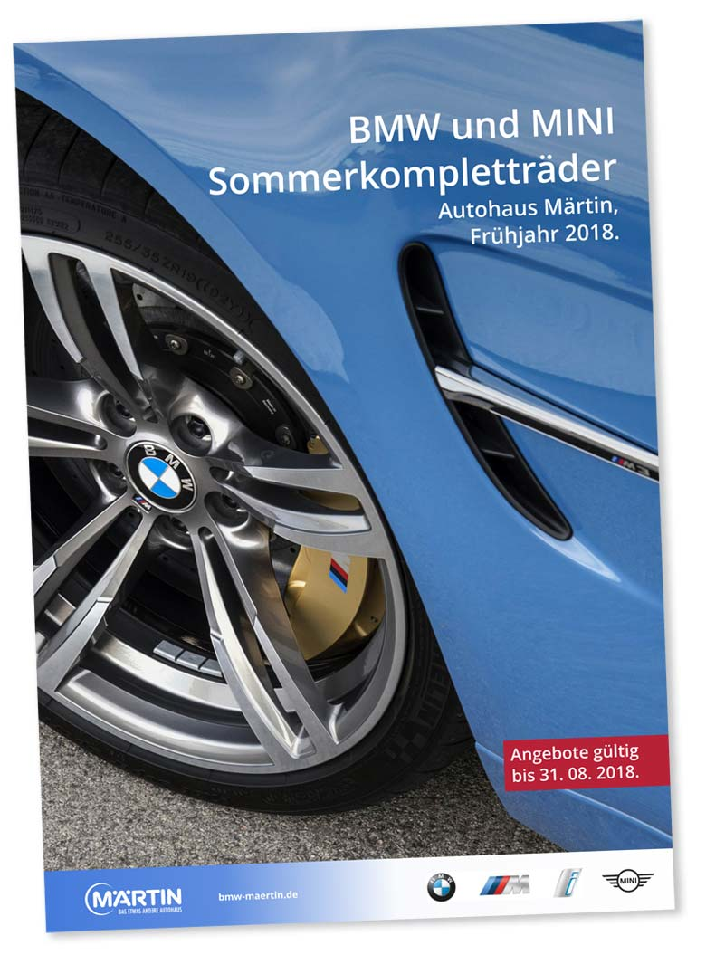 Sommerkompletträder Katalog 2018 bei Märtin