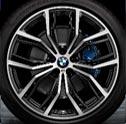 Sommerkompletträder-Angebot für BMW X3 im Autohaus Märtin