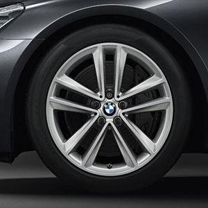 BMW Winterkompletträder Doppelspeiche 630 Ferricgrey