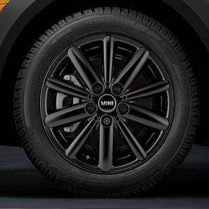 MINI Winterkompletträder Radial Spoke 508 schwarz 16 Zoll
