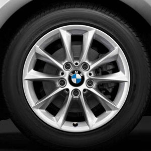 "BMW 1er F20 F21 Winterkomplettradsatz V-Speiche 411 16"""
