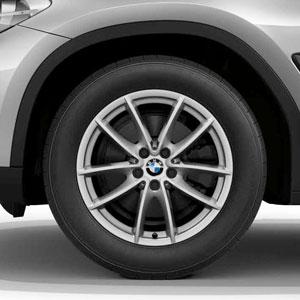 Winterräderkomplettsatz BMW V-Speiche 618