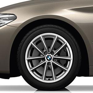 BMW Winterkompletträder V-Speiche 618 Reflexsilber
