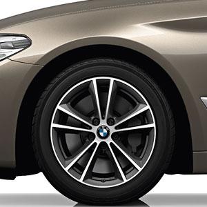 BMW Winterkompletträder V-Speiche 631 bicolor