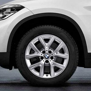 BMW Winterkompletträder Y-Speiche 574 17 Zoll