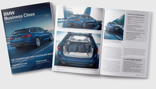 BMW Business-Class Magazin