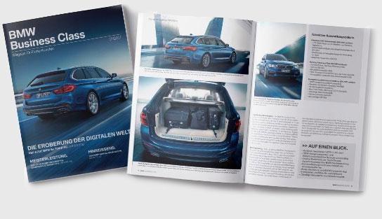 BMW Business-Class Magazin