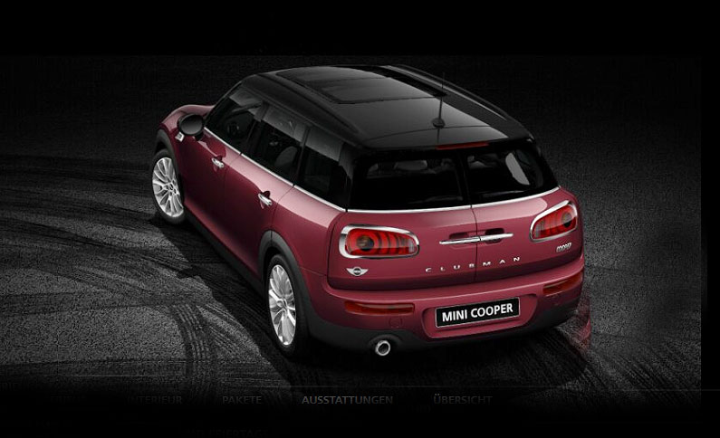 mini cooper clubman. Black Bedroom Furniture Sets. Home Design Ideas