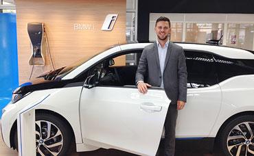 Jannis Florous, BMW i Exklusiv Verkäufer