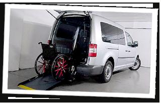 VW Caddy Gebrauchtwagenangebot Rollstuhlgerecht