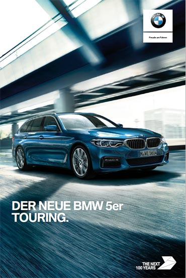 BMW 5er Touring Katalog bei Märtin