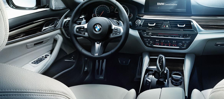 Komfort im neuen BMW 5er