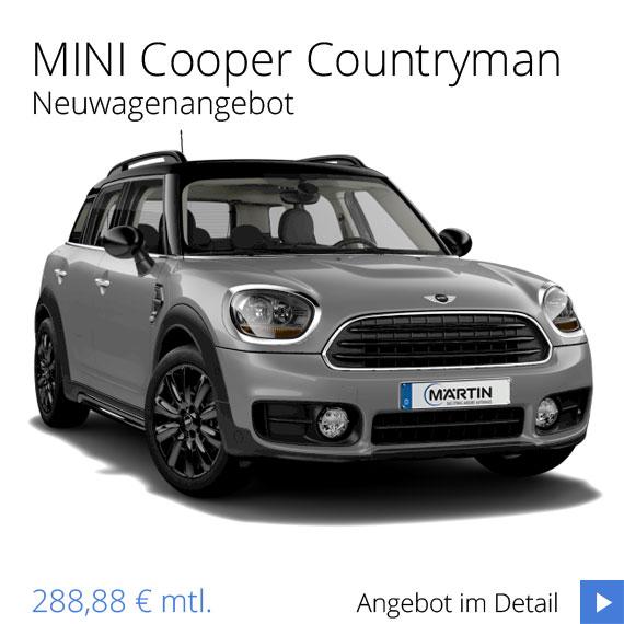MINI Cooper Countryman newagenangebot vom MINI Zentrum Freiburg