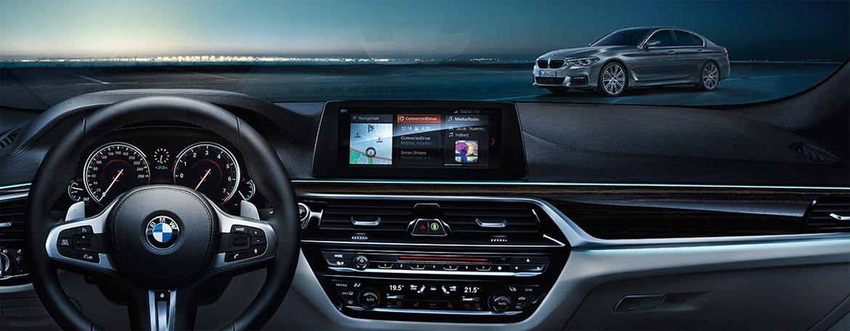 Vernetzung im neuen BMW 5er