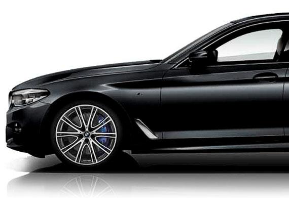 Neue BMW 5er Limousine im Autohaus Märtin