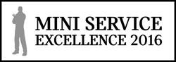 Märtin ist MINI Service Excellence Preisträger 2016